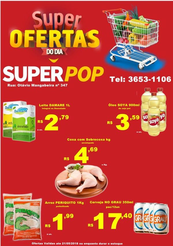 Confira as ofertas do Super Pop!